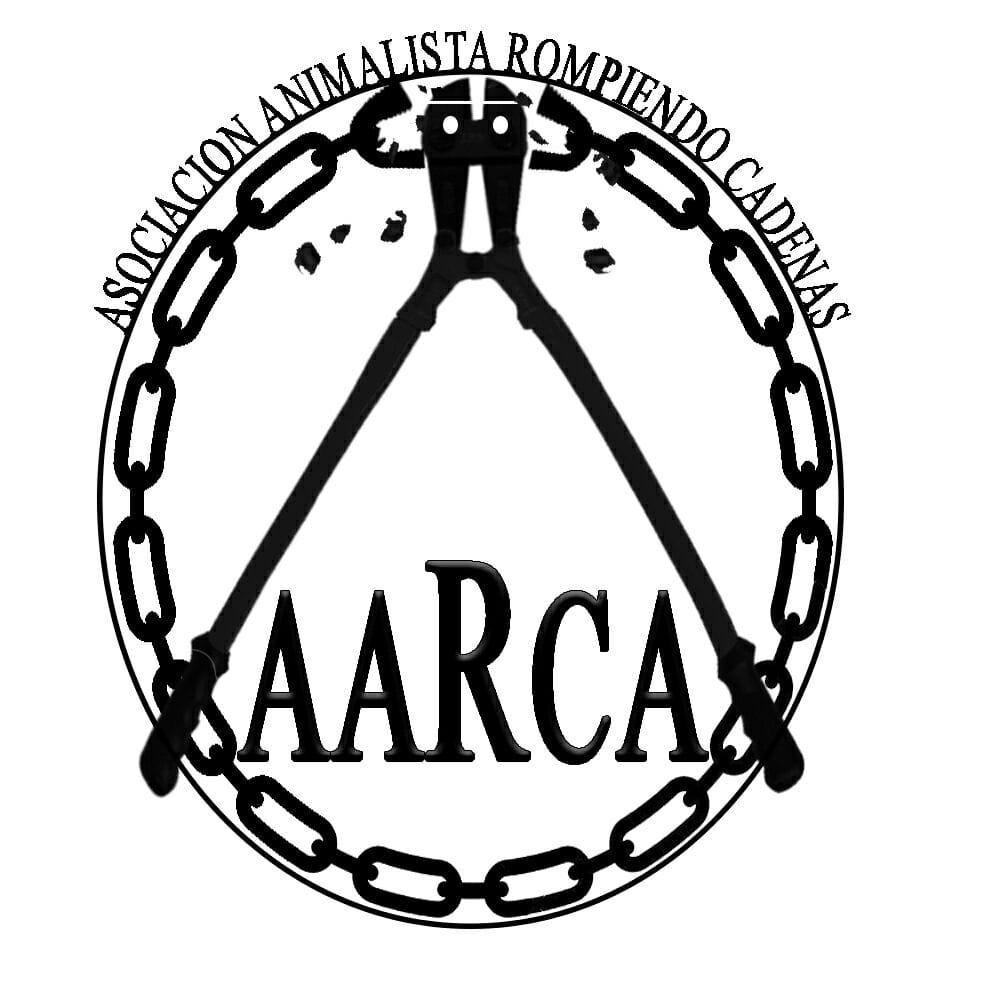 AARCA - ASOCIACION ANIMALISTA ROMPIENDO CADENAS - TENERIFE - LOGO
