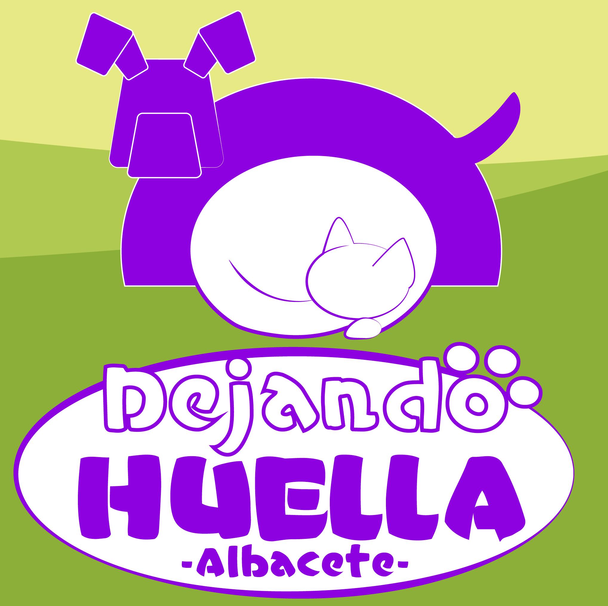 DEJANDO HUELLA - ALBACETE - LOGO