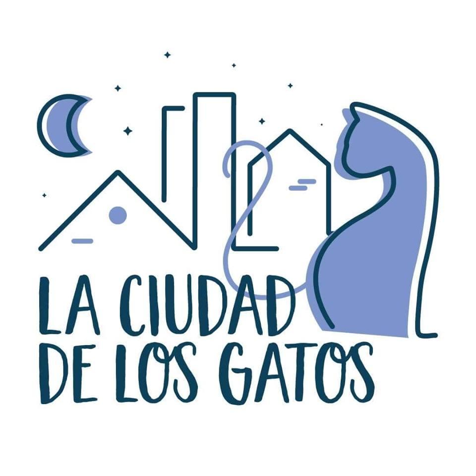 LA CIUDAD DE LOS GATOS - SALAMANCA - LOGO