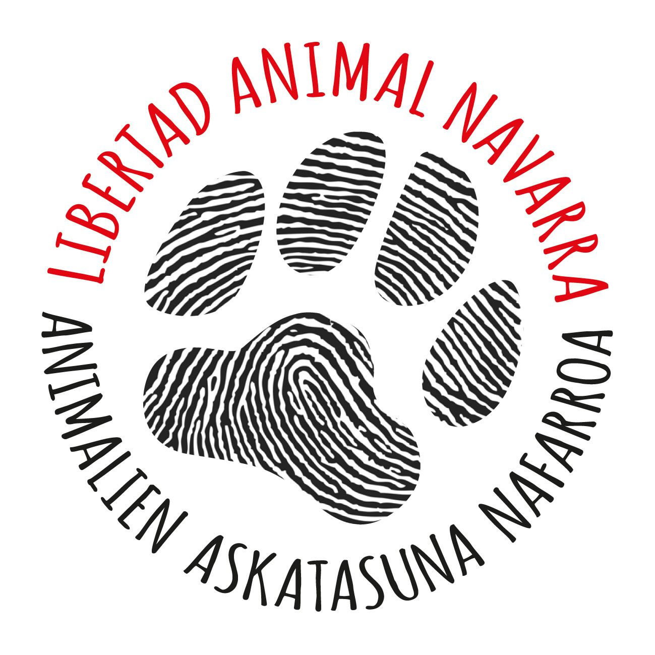 LIBERTAD ANIMAL NAVARRA - PAMPLONA - LOGO