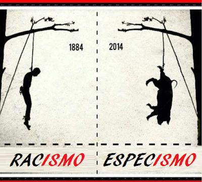 RACISMO Y ESPECISMO: Dos ramas de un mismo árbol.